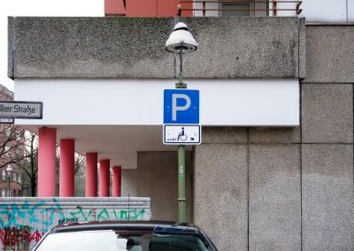 Parkplätze für Schwerbehinderte in Ludwigsburg